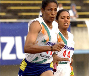 Regional Sports - P T Usha & 400m women relay team | Courtesy: NDTV-AFP