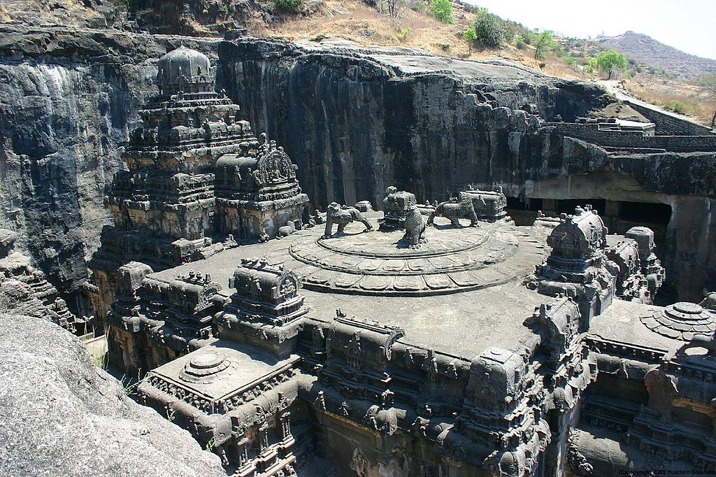 Monuments in India - Ellora cave