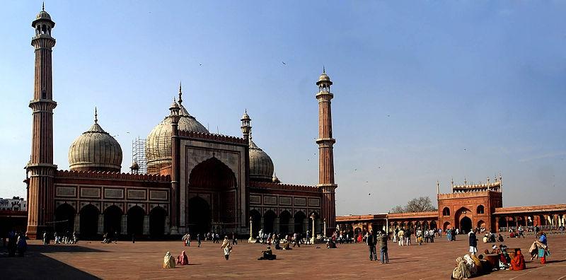 Monuments in India Jama Masjid New Delhi