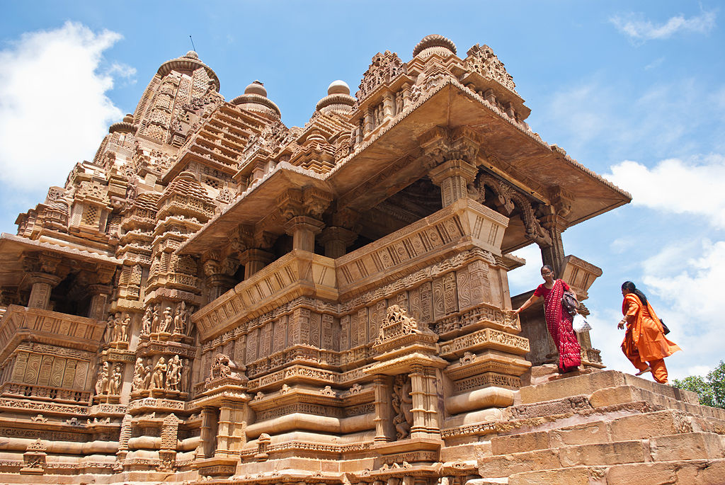 Monuments in India - Khajuraho-Lakshmana_Temple