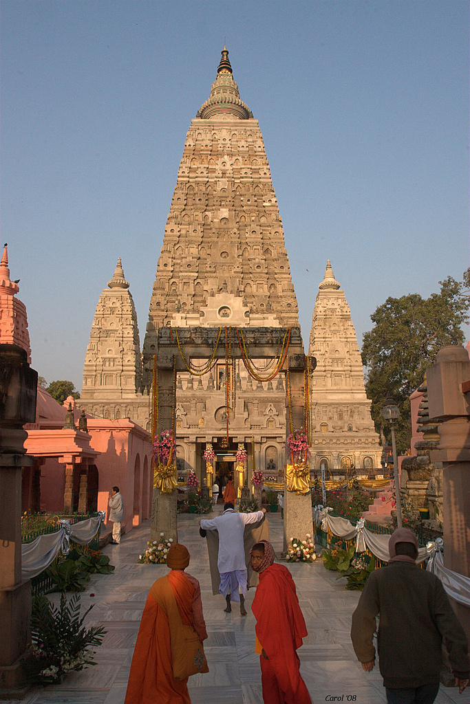 Monuments in India - Mahabodhi temple