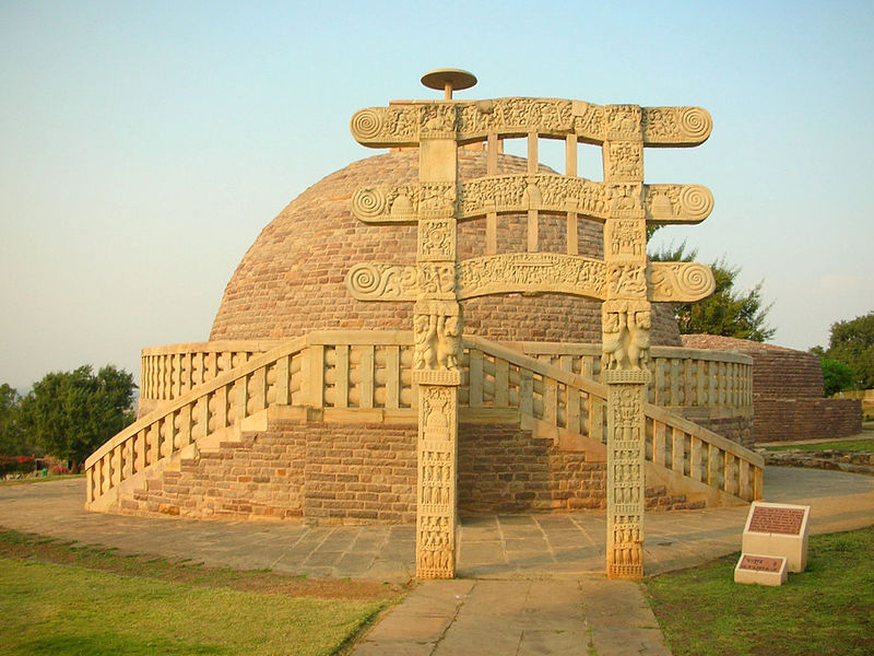 Monuments in India - Stupa Sanchi