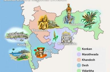 Maharashtra Region Map