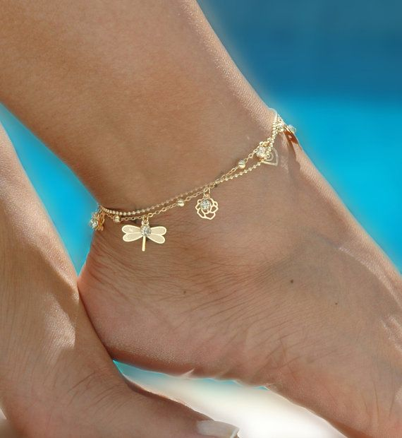 Indian Fashion Accessories - Anklets