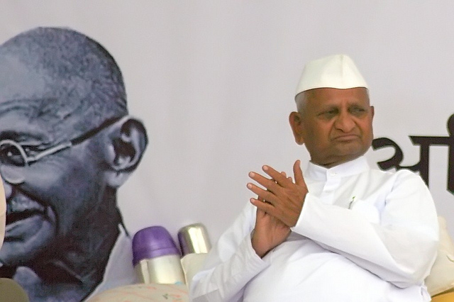 The Power of One Voice - Anna Hazare