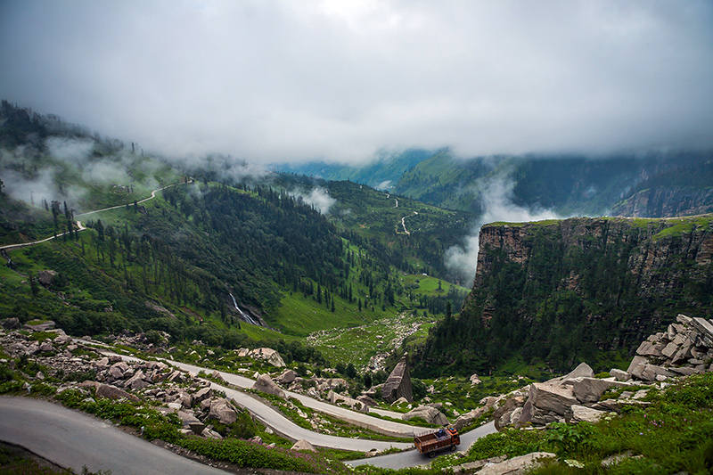 Himachal Pradesh - Rohtang Pass Photo