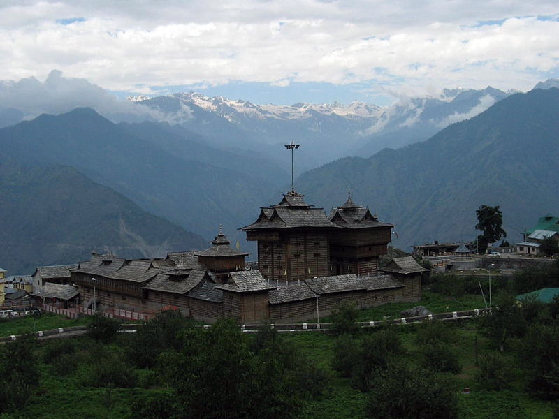 Himachal Pradesh - Sarahan-Temple