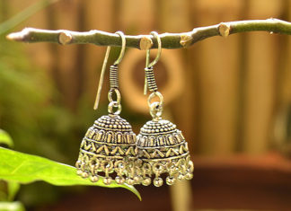 Indian Fashion Accessories - Jhumkas
