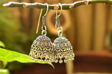 Indian Fashion Accessories - Jhumkas