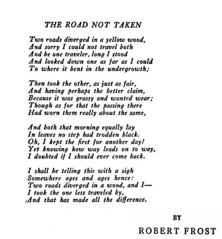 Power of Poetry - The_Road_Not_Taken_-_Robert_Frost