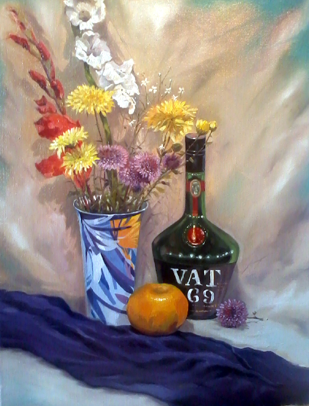 Contemporary-Indian-Art-Still-Life