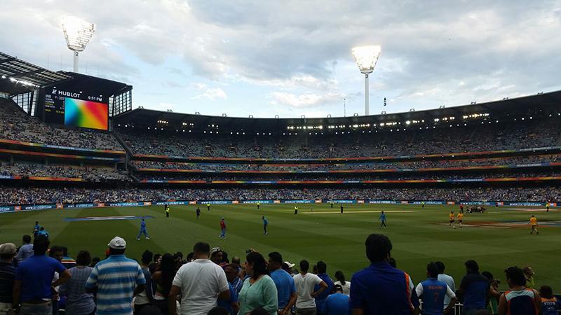 Indian Cricket Fans in Australia