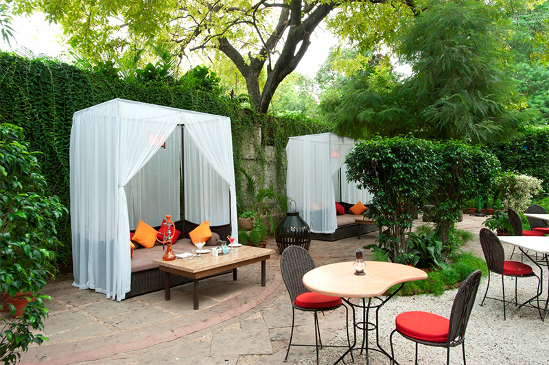 Eco-Friendly Eating - Lodhi Garden Restaurant