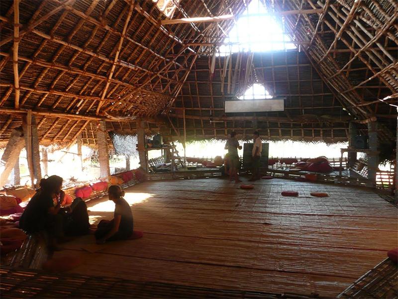 Sadhana Forest Hut