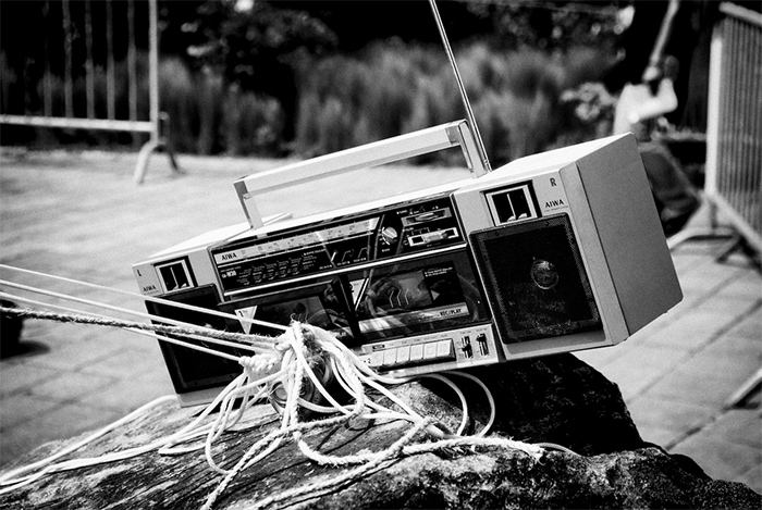 Boom-box-Tape-Recorder