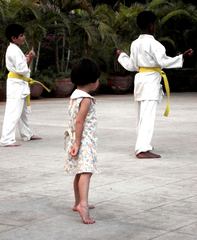 Childhood Memories - Karate lessons