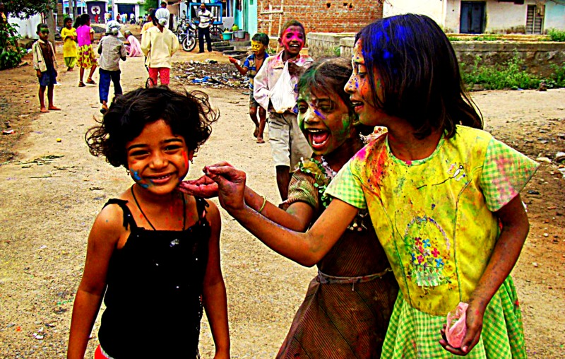 Childhood Memories - joy of Holi