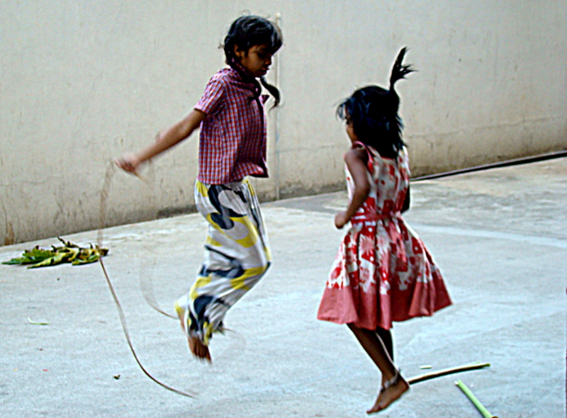 Childhood Memories - Skipping Thread