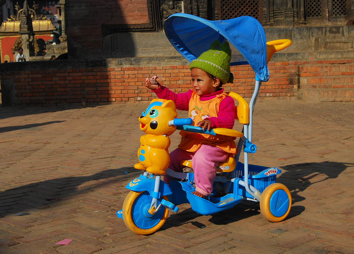 childhood memories - tricycles