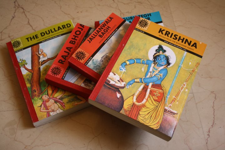 10 Indian Comics -  Amar Chitra Katha