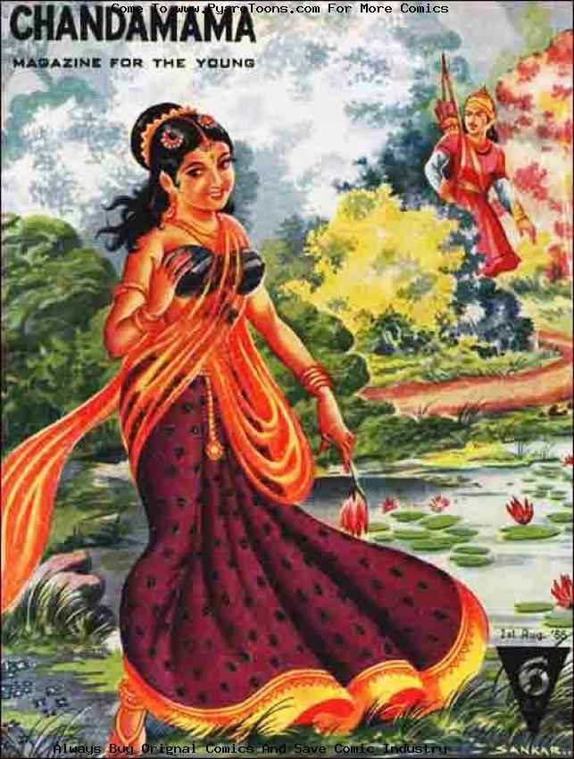 10 Indian Comics -  Chandamama