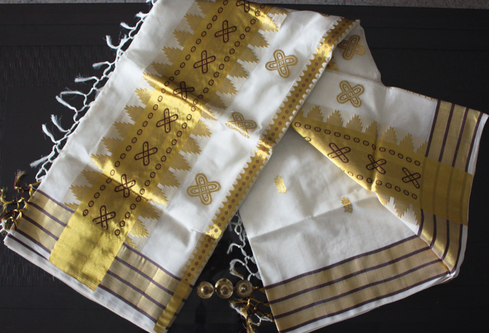 handlooms of kerala - Kuthampully textiles