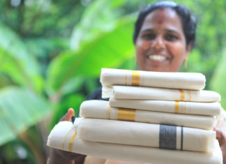 handlooms of kerala - Kerala Kasavu sarees