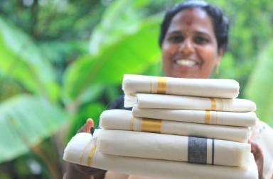 Kerala Kasavu sarees