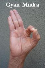 hand mudras - Gyan Mudra