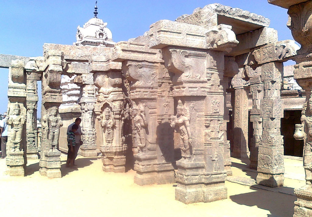 Lepakshi-Shiva_parvati_wedding