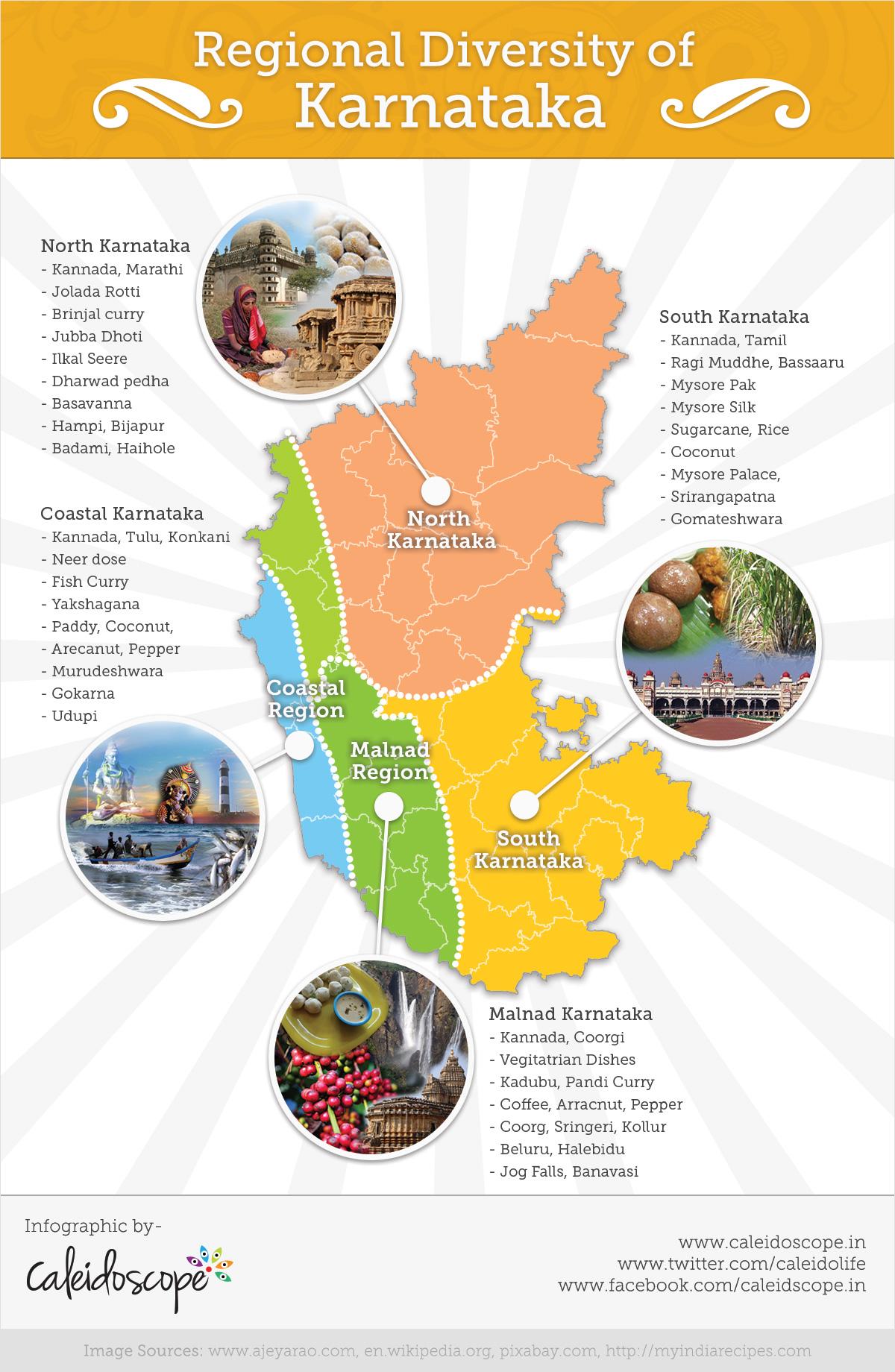 Infographic - Karnataka culture