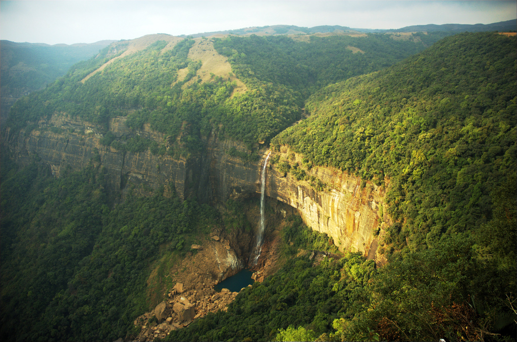 Nohkalikai-Falls-Cherrapunji