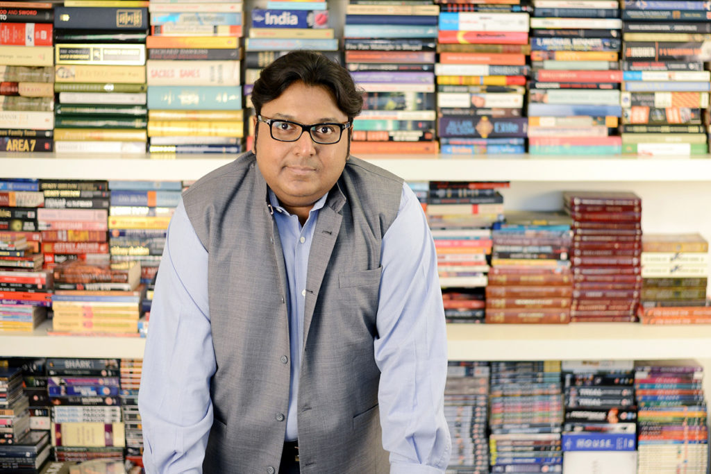 Indian writer - Ashwin Sanghi