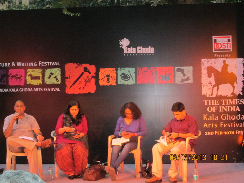 Discussion on literature during Kala Ghoda Fest. Source: Flickr