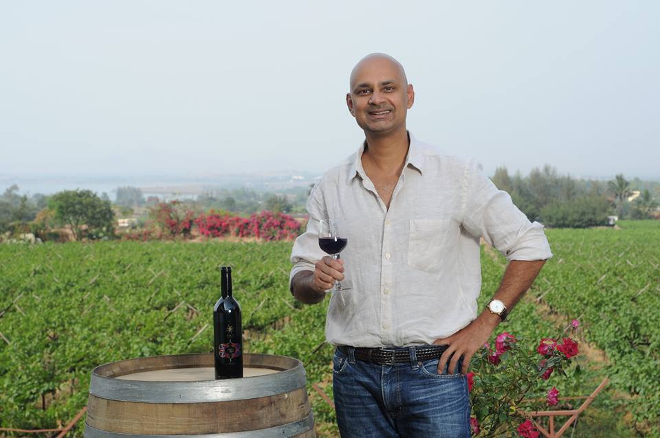 Rajeev Samant, founder of Sula Vineyards
