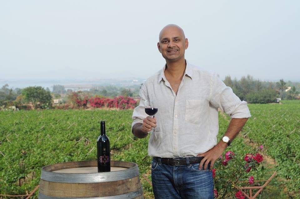 Rajeev Samant, founder of Sula Vineyards