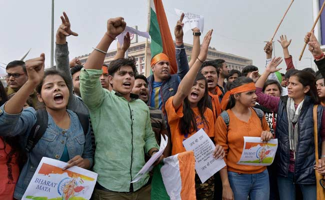 JNU Student protest