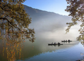 Boating in Naini lake Nainital