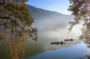 Boating in Naini lake Nainital