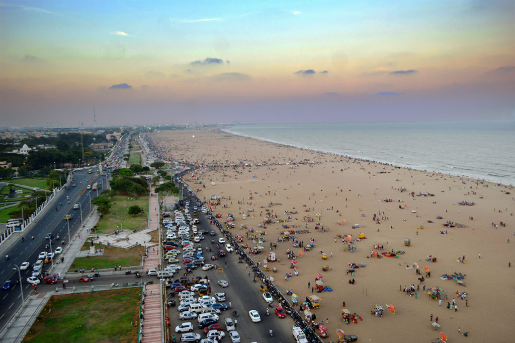 Tourist-place-in-Tamilnadu-Marina-Beach