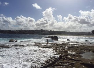 Bondi Australia magnificent view