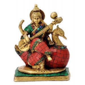 saraswati-statue