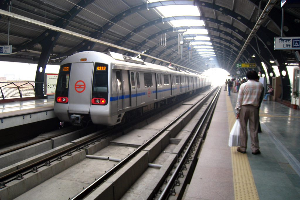 Delhi Culture: Metro-Train