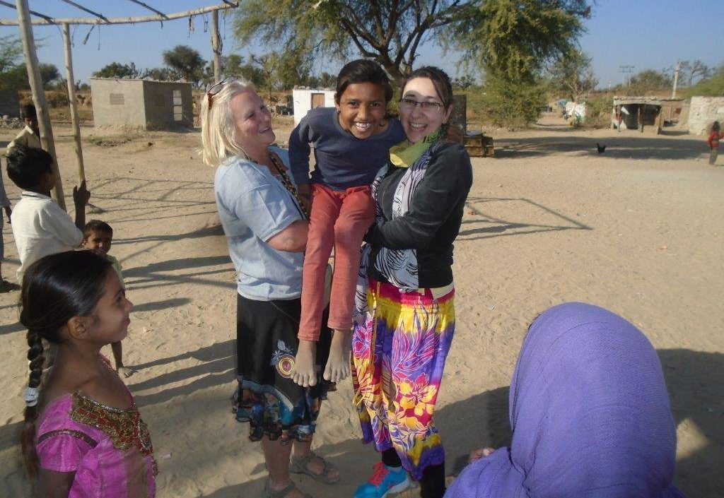 Voluntouring in India Ladli