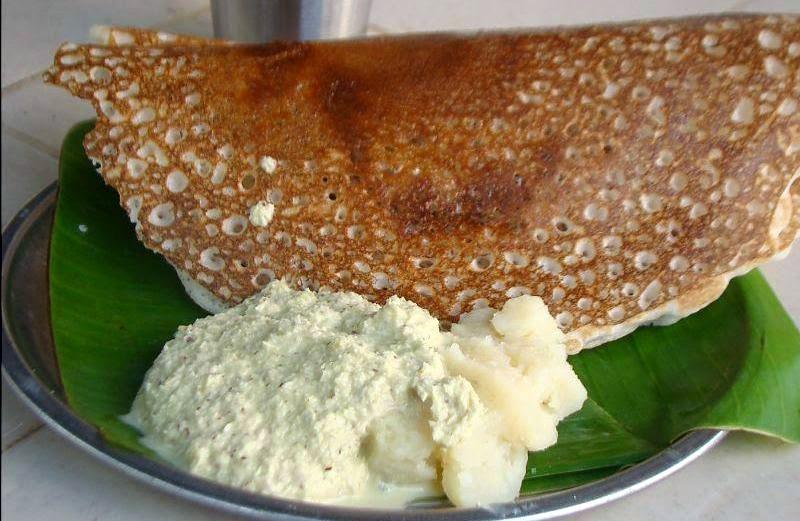 Bangalore-Regional-Cuisine-Benne-Masala-Dosa