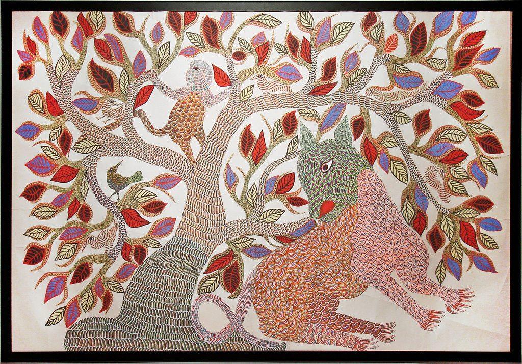 Indian-Home-Decor-Ideas-Madhuni-painting