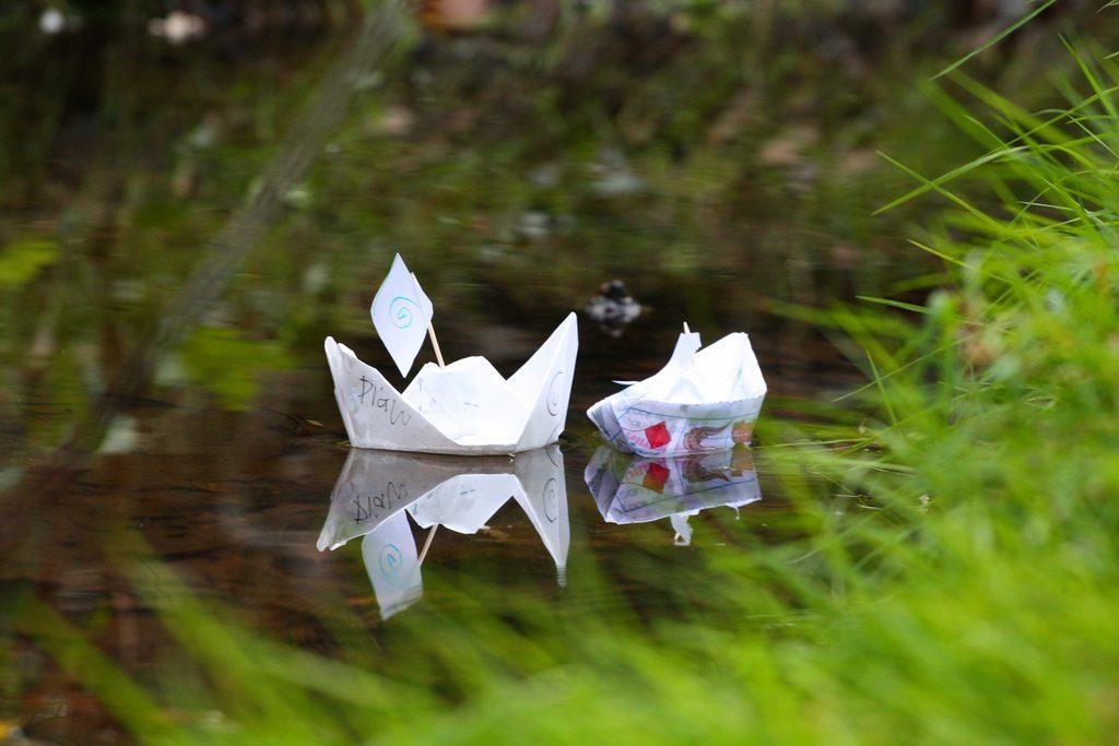 Paper Boat Nostalgia