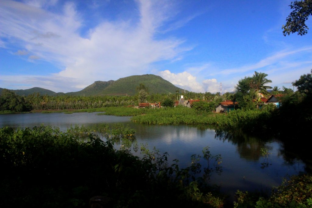 Chikmagalur Coffee-Country-water-pond