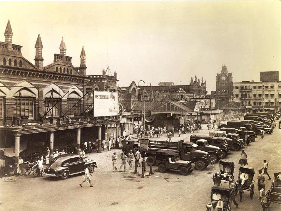 Kolkata-New-Market-circa-1945