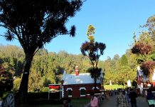Nilgiri mountains-City mall in Ooty